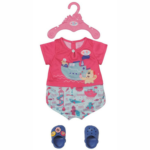 BABY Born Bath Pyjamas with Shoes 43cm