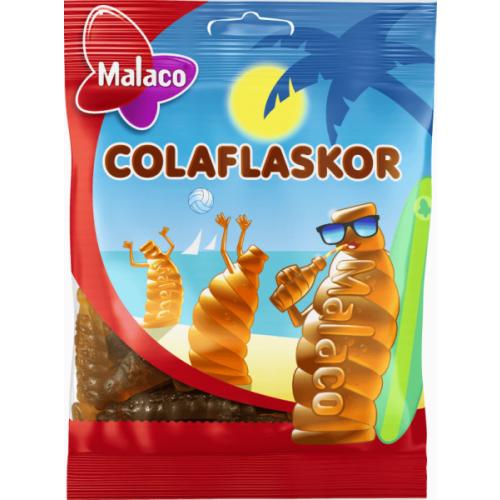 Malaco Colaflaskor 80 g