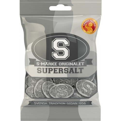 Candy People S-märke Salta 80 g