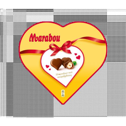 Marabou Chokladask Hjärtan 165 g