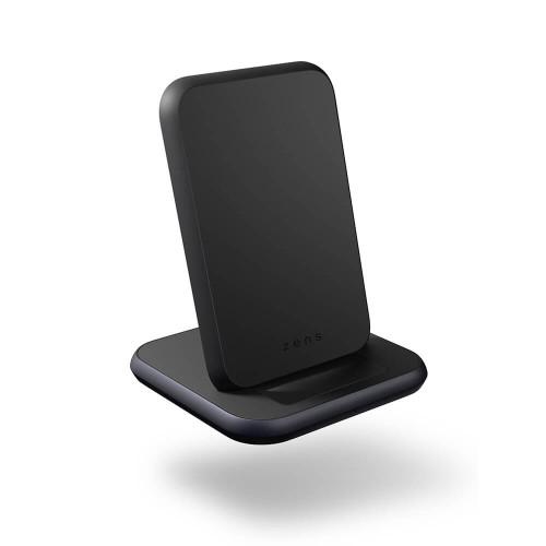ZENS QI Bordsladdare + USB-A out 10W inkl 18W USB-C PD Svart