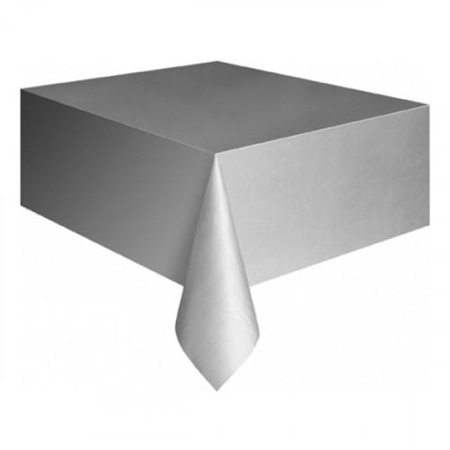 Plastduk Silver