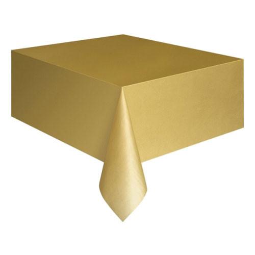 Plastduk Guld