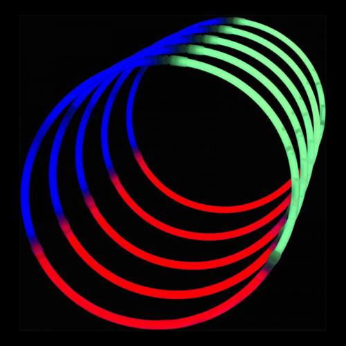 Självlysande Halsband (Tri-color)