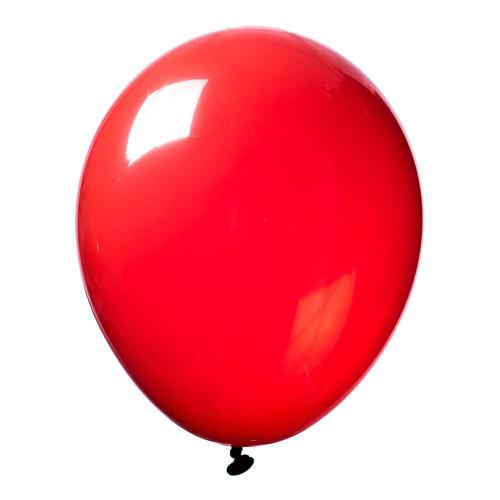 Latexballong Crystal Röd