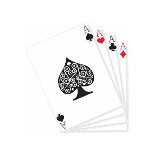 Poker Kartongfigur