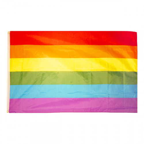 Flagga Regnbåge