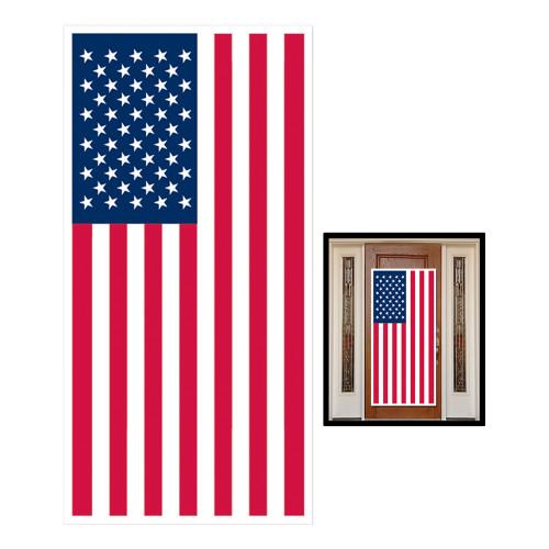 Dörrdekoration USA-flagga