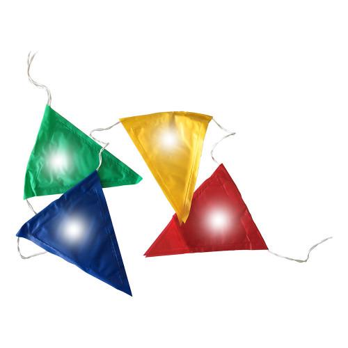 LED-Flaggirlang