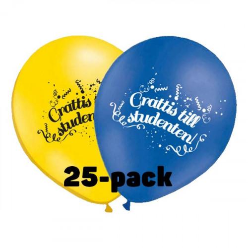Ballonger Grattis till Studenten!