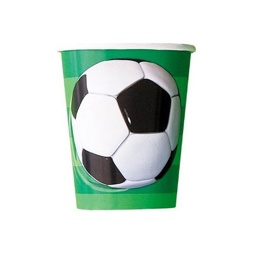 Pappersmuggar Fotboll - 8-pack