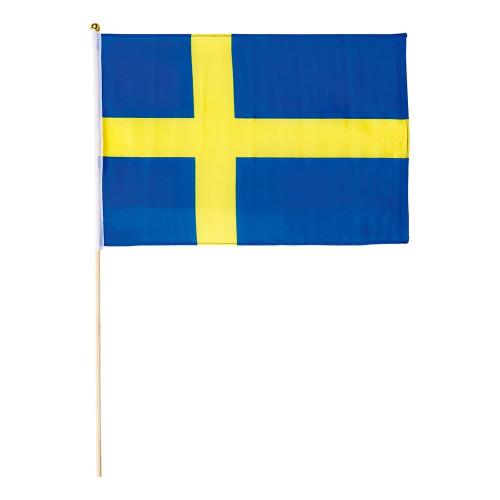 Flagga på Pinne Sverige