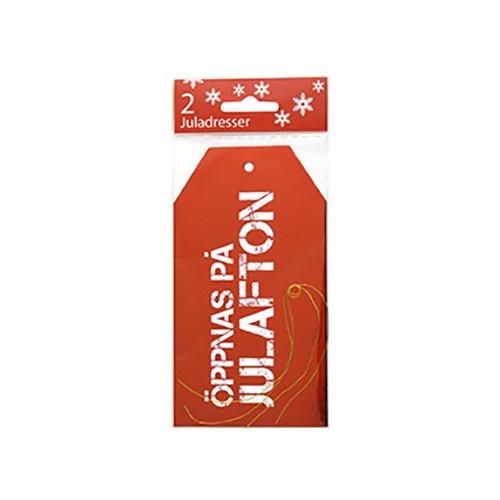 Manillamärken Öppnas på Julafton - 2-pack
