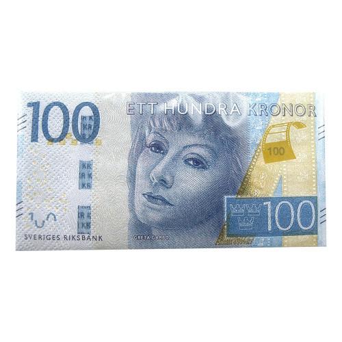 Servetter 100-kronorssedlar - 10-pack