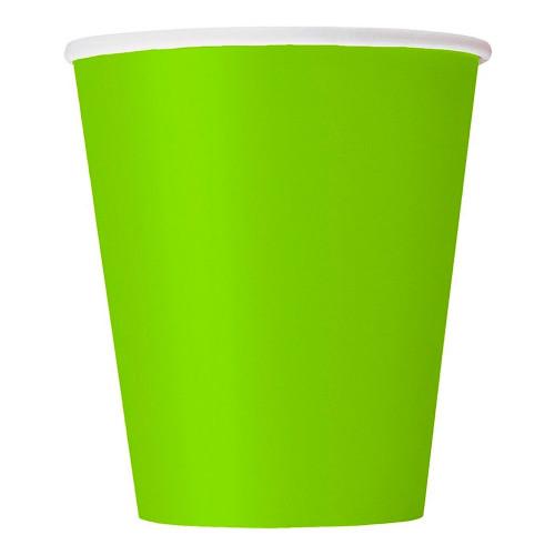 Pappersmuggar Neongröna - 14-pack