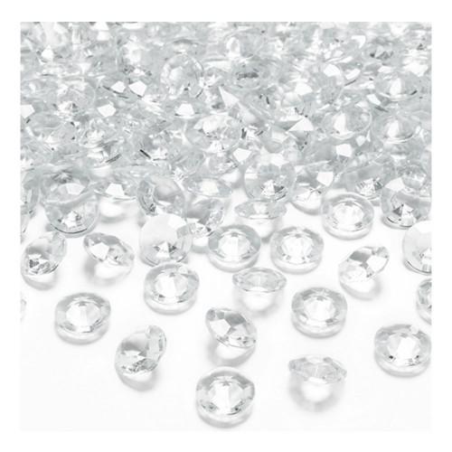 Kristalldiamanter Klar - 100-pack