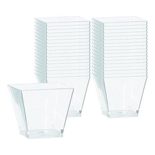 Cocktailskålar Mini i Plast - 40-pack