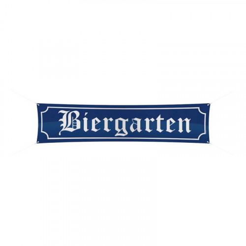 Biergarten Banderoll