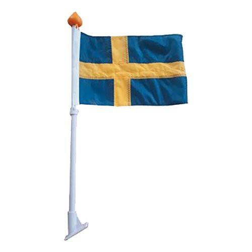 Fasadflagga Mini Sverige