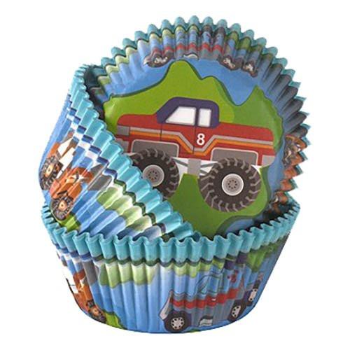 Muffinsformar Byggbilar - 50-pack