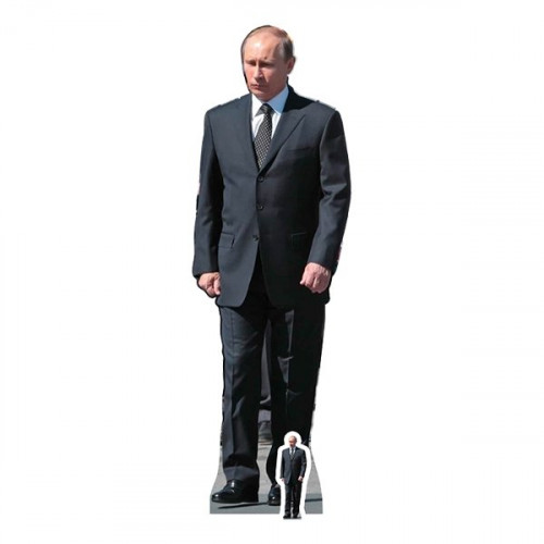Vladimir Putin Kartongfigur