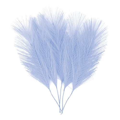 Fjädrar i Tyg Ljusblå - 5-pack