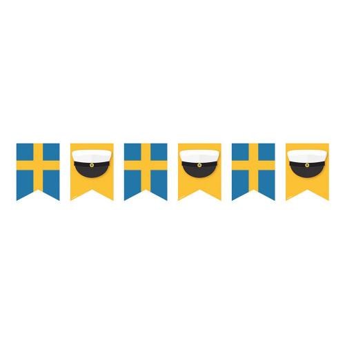 Flaggirlang Grattis till Studenten