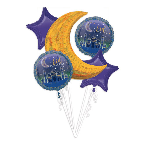 Ballongbukett Eid Mubarak