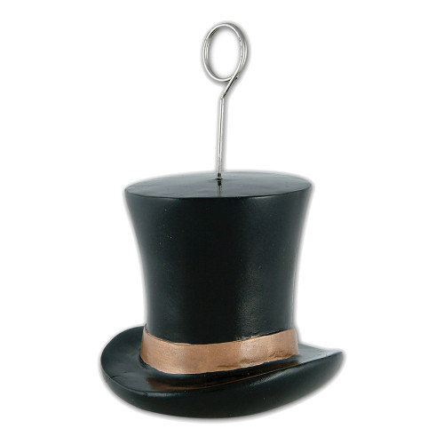 Ballongvikt Hatt Svart/Guld - 1-pack