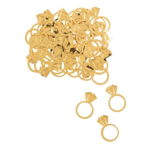 Konfetti Diamantringar Guld - 16 gram