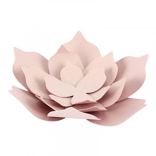 Bordsdekorationer Blommor Rosa - 3-pack