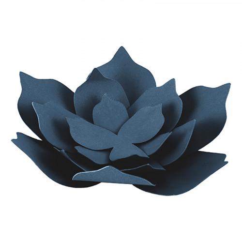 Bordsdekorationer Blommor Marinblå - 3-pack