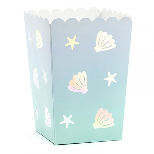 Popcornboxar Narwhal - 6-pack
