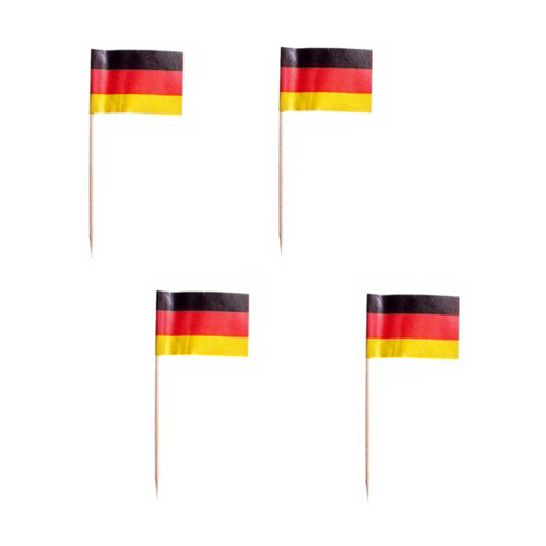 Cocktailflaggor Tyskland - 200-pack