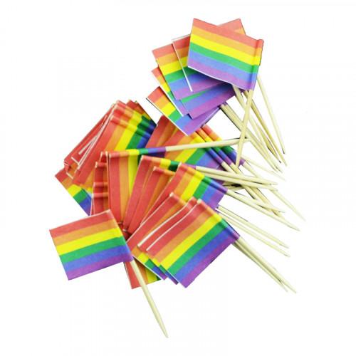 Cocktailflagga Pride - 50-Pack