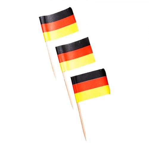 Cocktailpinnar Tyskland - 50-Pack