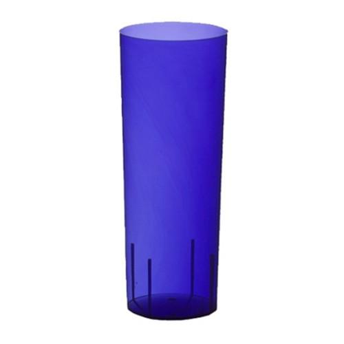Longdrinkglas Blå i Plast - 10-pack