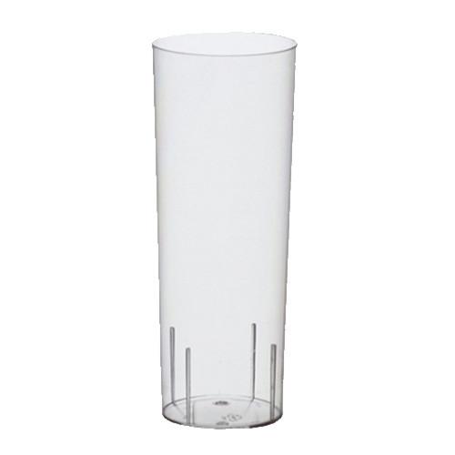 Longdrinkglas Transparent i Plast - 10-pack