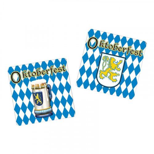 Glasunderlägg Oktoberfest - 8-pack
