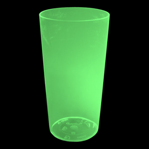 UV Neon Drinkglas
