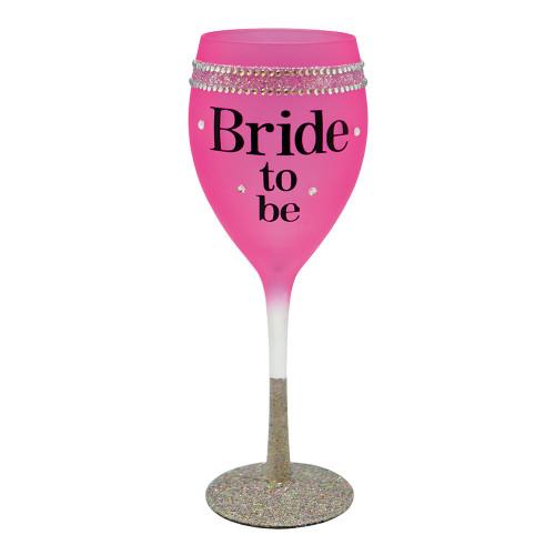 Vinglas Rosa Bride To Be