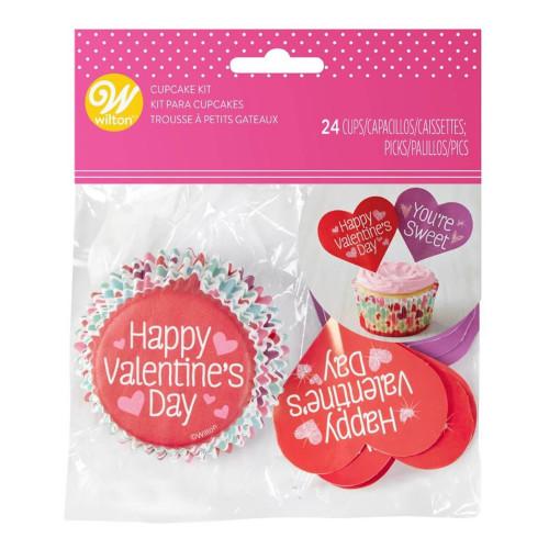Cupcake Kit Alla Hjärtans Dag