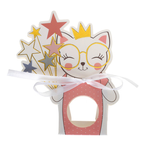 Kalaspåsar Kitty Party Rosa - 6-pack
