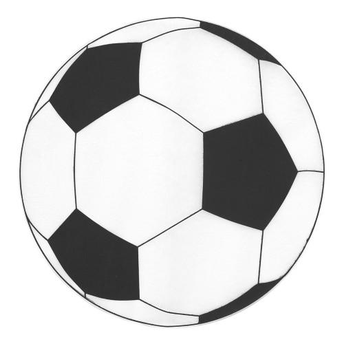 Bordsunderlägg Fotbollar - 6-pack