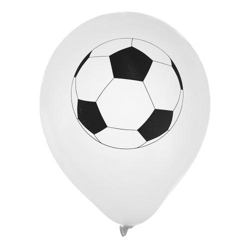 Latexballonger Fotbollar - 8-pack