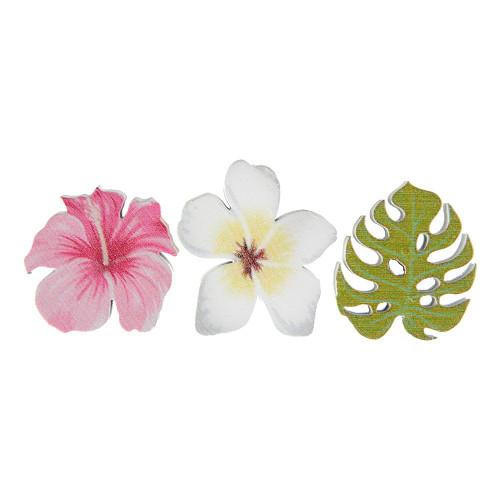 Konfetti Tropical Blommor - 6-pack