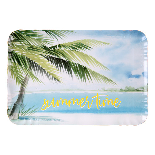 Pappersfat Summer Time - 5-pack