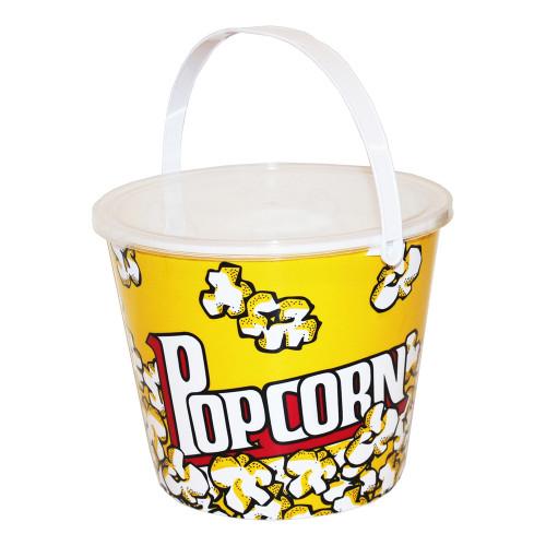 Popcornskål med Lock - 1-pack