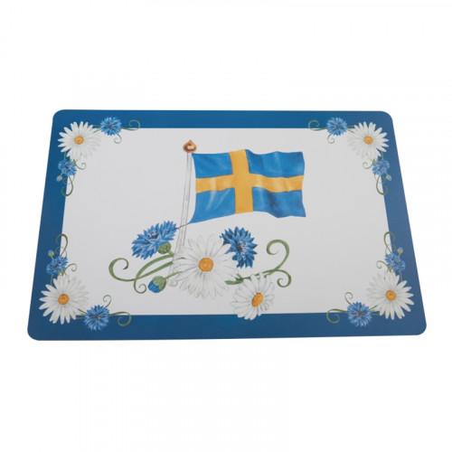 Bordstablett Svensk Flagga - 1-pack