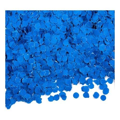 Papperskonfetti Blå